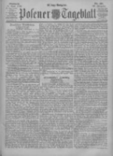 Posener Tageblatt 1900.04.25 Jg.39 Nr191