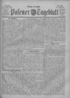 Posener Tageblatt 1900.04.29 Jg.39 Nr198