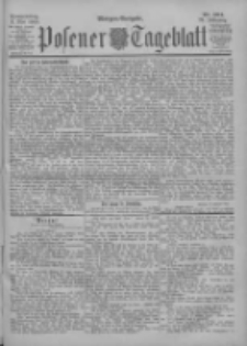 Posener Tageblatt 1900.05.03 Jg.39 Nr204