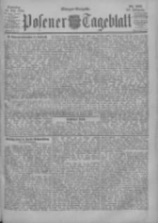 Posener Tageblatt 1900.05.13 Jg.39 Nr222