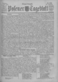 Posener Tageblatt 1900.06.03 Jg.39 Nr256