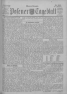 Posener Tageblatt 1900.06.07 Jg.39 Nr260