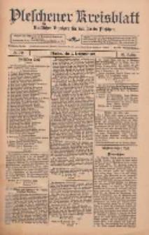 Pleschener Kreisblatt: Amtlicher Anzeiger für den Kreis Pleschen 1912.09.07 Jg.60 Nr72