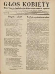 Głos Kobiety 1937.10.01 R.7 Nr10