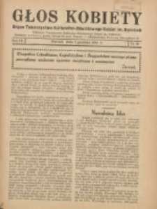 Głos Kobiety 1937.12.01 R.7 Nr12