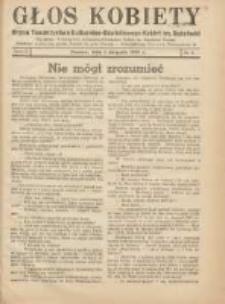 Głos Kobiety 1939.08.01 R.9 Nr8