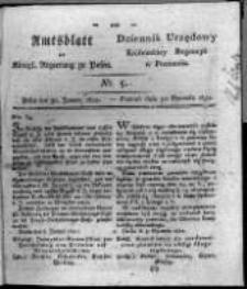 Amtsblatt der Königlichen Regierung zu Posen. 1821.01.30 Nro.5