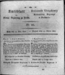 Amtsblatt der Königlichen Regierung zu Posen. 1821.03.13 Nro.11