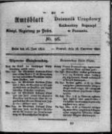 Amtsblatt der Königlichen Regierung zu Posen. 1821.06.26 Nro.26