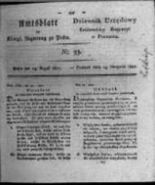 Amtsblatt der Königlichen Regierung zu Posen. 1821.08.14 Nro.33