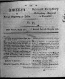 Amtsblatt der Königlichen Regierung zu Posen. 1821.08.28 Nro.35