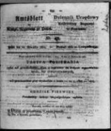 Amtsblatt der Königlichen Regierung zu Posen. 1821.11.20 Nro.47