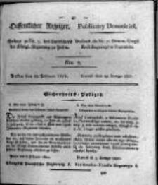 Oeffentlicher Anzeiger. 1821.02.13 Nro.7