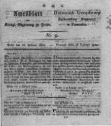 Amtsblatt der Königlichen Regierung zu Posen. 1822.02.26 Nro.9