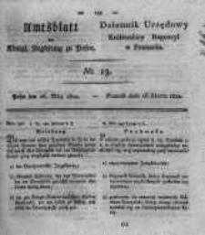 Amtsblatt der Königlichen Regierung zu Posen. 1822.03.26 Nro.13