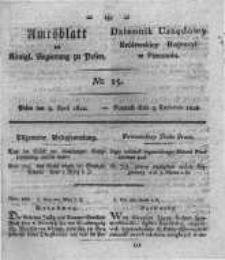 Amtsblatt der Königlichen Regierung zu Posen. 1822.04.09 Nro.15