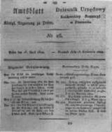 Amtsblatt der Königlichen Regierung zu Posen. 1822.04.16 Nro.16