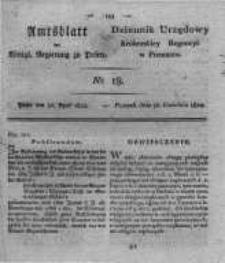 Amtsblatt der Königlichen Regierung zu Posen. 1822.04.30 Nro.18