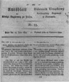 Amtsblatt der Königlichen Regierung zu Posen. 1822.06.18 Nro.25