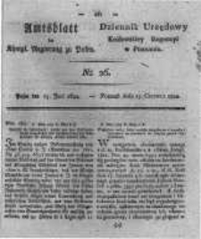 Amtsblatt der Königlichen Regierung zu Posen. 1822.06.25 Nro.26