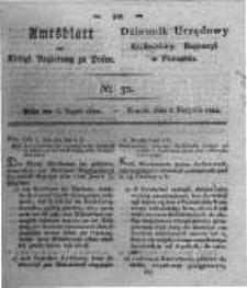 Amtsblatt der Königlichen Regierung zu Posen. 1822.08.06 Nro.32