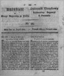Amtsblatt der Königlichen Regierung zu Posen. 1822.08.27 Nro.35