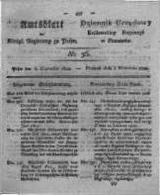 Amtsblatt der Königlichen Regierung zu Posen. 1822.09.03 Nro.36