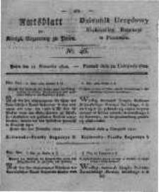 Amtsblatt der Königlichen Regierung zu Posen. 1822.11.12 Nro.46
