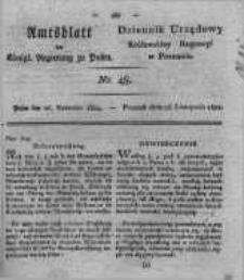 Amtsblatt der Königlichen Regierung zu Posen. 1822.11.26 Nro.48