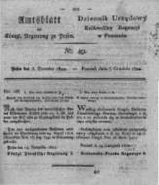 Amtsblatt der Königlichen Regierung zu Posen. 1822.12.03 Nro.49