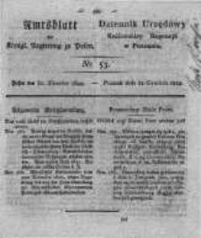 Amtsblatt der Königlichen Regierung zu Posen. 1822.12.31 Nro.53