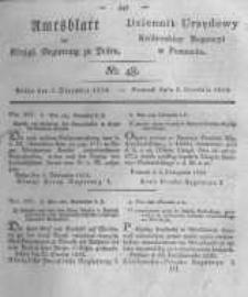 Amtsblatt der Königlichen Regierung zu Posen. 1823.12.02 Nro.48