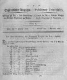 Oeffentlicher Anzeiger. 1823.01.07 Nro.1