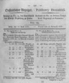 Oeffentlicher Anzeiger. 1823.04.15 Nro.15