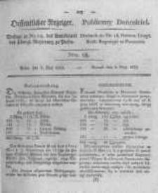 Oeffentlicher Anzeiger. 1823.05.06 Nro.18