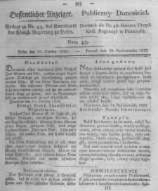 Oeffentlicher Anzeiger. 1823.10.28 Nro.43