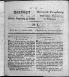 Amtsblatt der Königlichen Regierung zu Posen. 1824.01.13 Nro.2