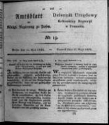 Amtsblatt der Königlichen Regierung zu Posen. 1824.05.11 Nro.19