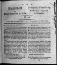 Amtsblatt der Königlichen Regierung zu Posen. 1824.05.25 Nro.21