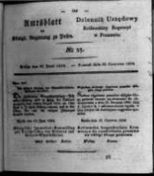 Amtsblatt der Königlichen Regierung zu Posen. 1824.06.22 Nro.25
