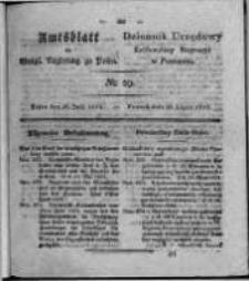 Amtsblatt der Königlichen Regierung zu Posen. 1824.07.20 Nro.29