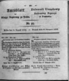Amtsblatt der Königlichen Regierung zu Posen. 1824.08.31 Nro.35