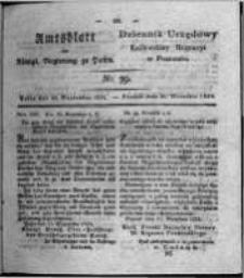 Amtsblatt der Königlichen Regierung zu Posen. 1824.09.28 Nro.39