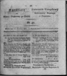 Amtsblatt der Königlichen Regierung zu Posen. 1824.10.19 Nro.42