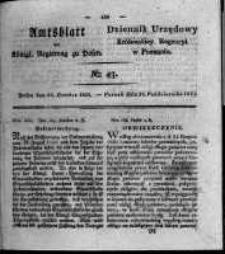 Amtsblatt der Königlichen Regierung zu Posen. 1824.10.26 Nro.43