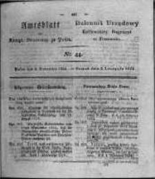 Amtsblatt der Königlichen Regierung zu Posen. 1824.11.02 Nro.44