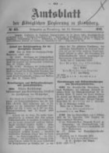 Amtsblatt der Königlichen Preussischen Regierung zu Bromberg. 1902.11.13 No.46