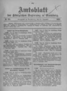 Amtsblatt der Königlichen Preussischen Regierung zu Bromberg. 1902.12.24 No.52