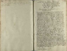 List Jeo M pana Jerzego Ossolińskiego canclerza koronnego [...] arguendo libertatem senatoriam Jeo Mci panu Krystophie ze Bnina Opalinskym woiewodzie poznanskym 1644-to