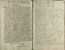 Copya listu X. J. P. [Jerzego] Zbarawskiego podczaszego coronnego starosty pinskiego do xiędza Lesiowskiego [Jana Lesiewskiego] jezuity, gdi juspatronatus chciał reformowac [1619]